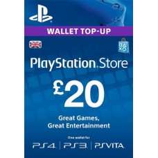 20 GBP PSN Card (UK)