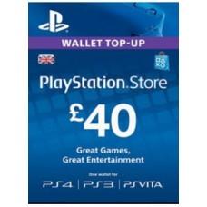 40 GBP PSN Card (UK)