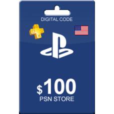 100 USD PSN Card (US)