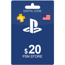 20 USD PSN Card (US)