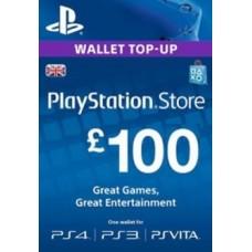 100 GBP PSN Card (UK)
