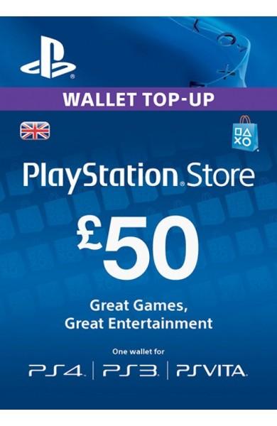 50 GBP PSN Card (UK)