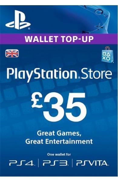 35 GBP PSN Card (UK)