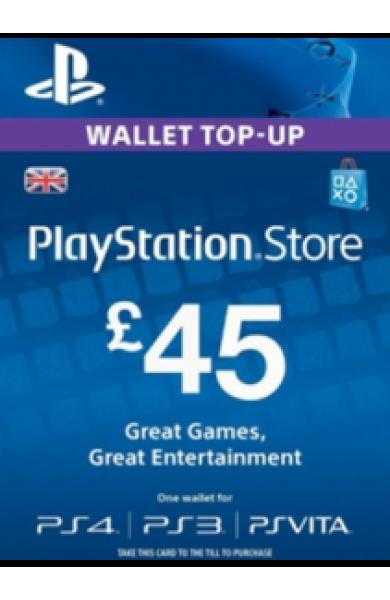 45 GBP PSN Card (UK)