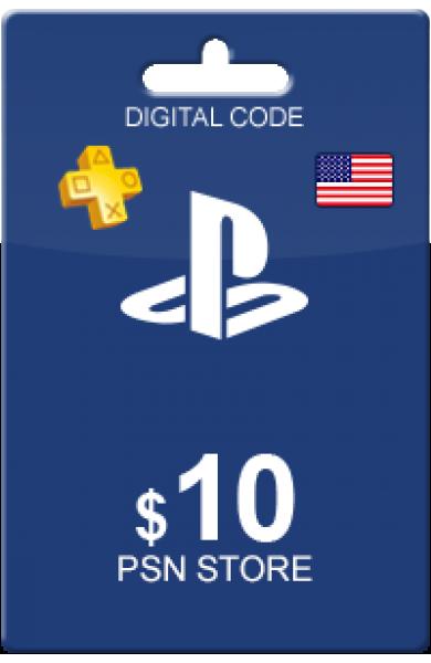 10 USD PSN Card (US)