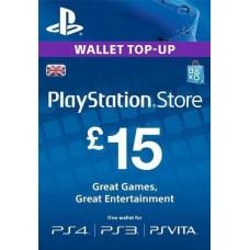 15 GBP PSN Card (UK)