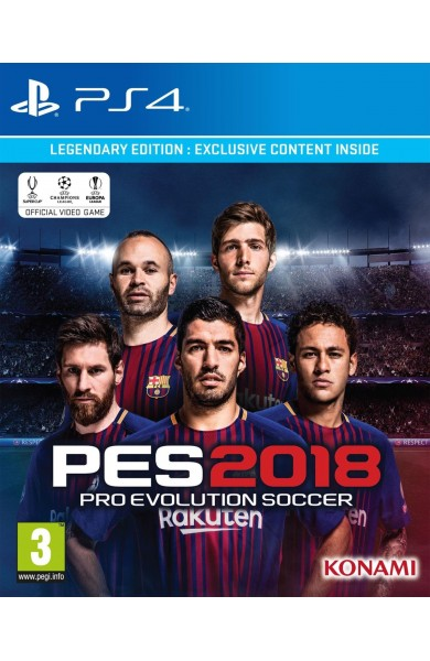 PES 2018 - Pro Evolution Soccer 2018 FC Barcelona Edition