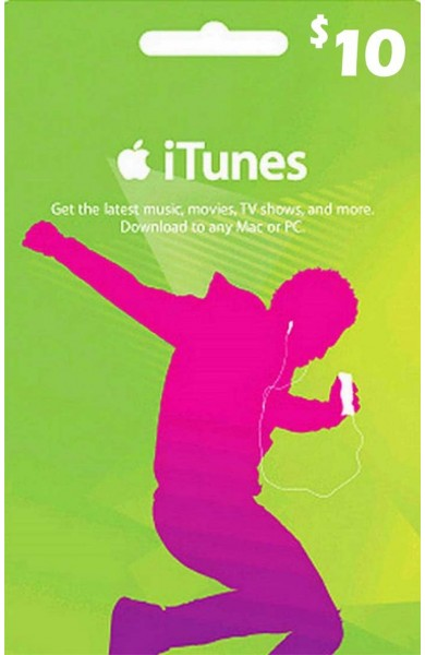 iTunes Gift Card $10 (USA)