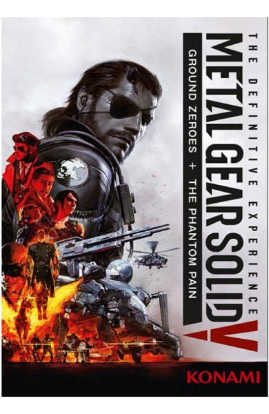 Metal Gear Solid V 5 Definitive Experience - Steam