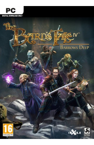 The Bards Tale IV 4 Barrows Deep - Steam