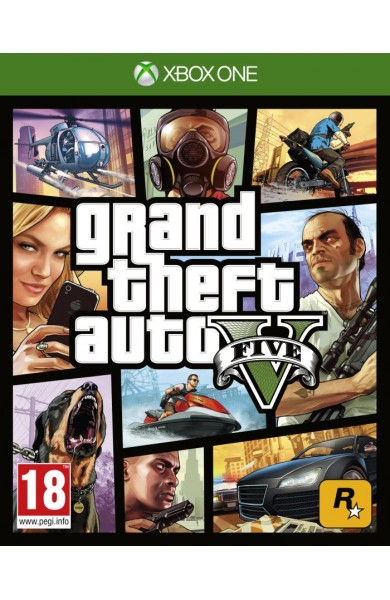 Grand Theft Auto V GTA 5 XBOX ONE