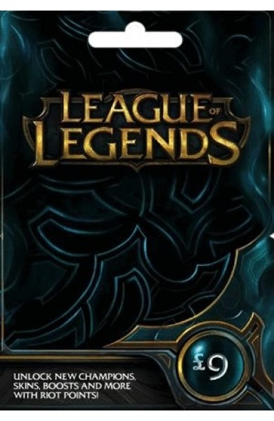League of Legends RP Card (UK) 9 GBP