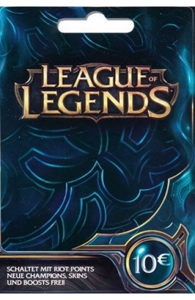 League of Legends RP Card (EU) 10 EUR
