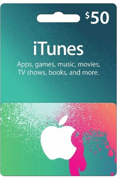 iTunes Gift Card $50 (USA)